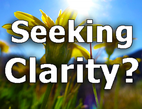 Seeking Clarity?